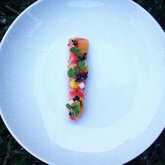 Ora King Belly | Olio Verde | Citrus #gastroart #blackfishbyob #chefsofinstagram #theartofplating #phillyfood #philly #kingsalmon #orakingawards by yianniarhontoulis