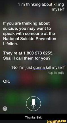 Thanks Siri