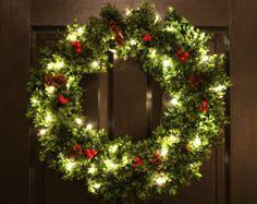 Presents Presents Presents Pre-Lit Christmas by WeLoveWreaths