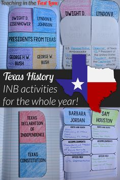 No more struggling to fit in Texas History! With this interactive notebook you are set for the whole year from geography and Native Americans to Texas symbols and government! 4th Grade Social Studies, Social Studies Classroom, History Classroom, Teaching Social Studies, Teaching History, History Education, History Interactive Notebook, Interactive Notebooks, Texas History 7th