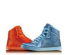 coda satin effect fabric high-top sneaker - Gucci