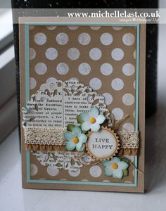 Stampin' Up! Petite Petals Sketch Challenge from Stamping & Blogging - Stampin' Up! Demonstrator Michelle Last