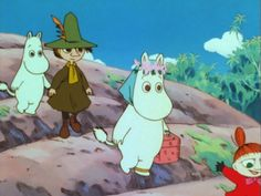 Graphic Design Illustration, Graphic Art, Illustration Art, Illustrations, Tove Jansson, Moomin Valley, Animated Cartoons, Cute Characters, A Comics