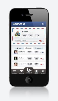 Bounce It for iPhone - UltraUI | UI Design & Inspiration