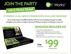 It is so easy to become part of such amazing, family oriented company!   Sign up for $99, get your starter kit and start following three simple steps:  1. Join the Party 2. Wrap free  3. Guarantee   Would love to have you as a loyal, to try the amazing products first or you jump all in, take a leap of faith, and become part of my team! Either way, I am happy to have you on board and share the love of the products!  www.germanwrapstar.com