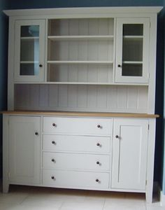 Providence UK, 2012 Home page Kitchen Dresser, Kitchen Cabinets, Country Kitchen, Contemporary Furniture, Bookcase, House Design, Shelves, Modern, Kitchen Ideas