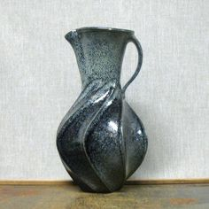 Ceramic pitcher by Jim Connell