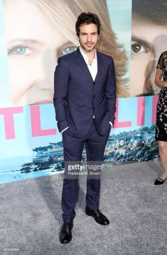Actor Santiago Cabrera attends the premiere of HBO's 'Big Little Lies' at TCL Chinese Theatre on February 7, 2017 in Hollywood, California.