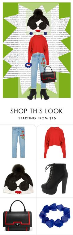 """""""I'm here!!!!!"""" by jennross76 ❤ liked on Polyvore featuring Oris, Gucci, TIBI, Alice + Olivia, Givenchy, John Lewis, Bling Jewelry and beanie"""