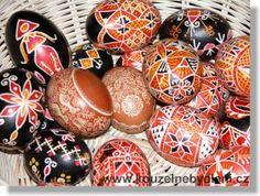 batikovane kraslice - Google Search