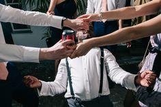 Creative documentary wedding photography. Creative, alternative and unique wedding photography at a Brockwell Lido wedding. Wedding photography in London, Birmingham and across the UK. #alternativeweddingphotography #londonweddingphotographer #brockwelllido