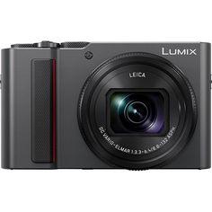 8ceeb66a48a1 Panasonic LUMIX ZS200 Digital Camera (Silver). GumiobjektívDigitális  FényképezőgépFényképezőgép