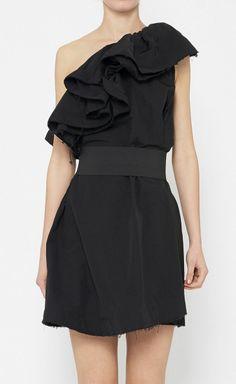 Lanvin Love H&M Black Dress
