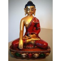 Boeddha beeld terracotta
