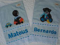Ursinhos em patchcolagem