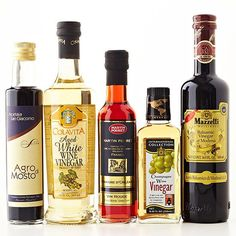 If your recipe calls for a specific vinegar that you don't have see if you can switch it out for one that you do have in your pantry. Learn about the different vinegars and what you can use them for.