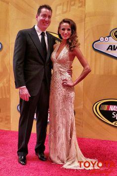 Kyle & Samantha Busch at the 2013 NASCAR Awards Banquet