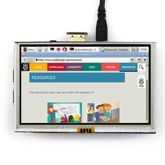 5 inch Touch LCD Screen Display for Banana Pi Raspberry Pi 2 B & B, Banana Pi, Raspberry Pi 2, Linux Mint, Photography Camera, Touch, Display, Model, Hdmi