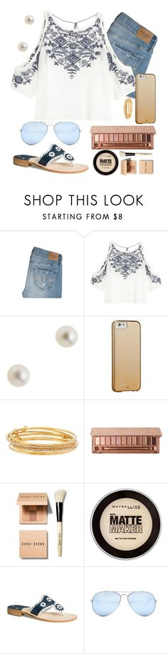 """getting braces tomorrow"" by preppygurl02 ❤ liked on Polyvore featuring Abercrombie & Fitch, H&M, J.Crew, Case-Mate, Kate Spade, Urban Decay, Bobbi Brown Cosmetics, Maybelline, Jack Rogers and GUESS"