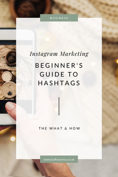 How to use Instagram hashtags to grow your following and get your brand seen by more people #hashtags #howtousehashtags Business Marketing, Business Tips, Social Media Marketing, Online Marketing, Online Business, Business Coaching, Digital Marketing, Boss Babe, How To Use Hashtags