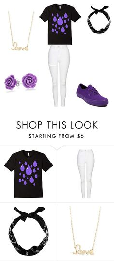 """Untitled #23"" by tboswell ❤ liked on Polyvore featuring Topshop, Vans, New Look, Sydney Evan and Bling Jewelry"