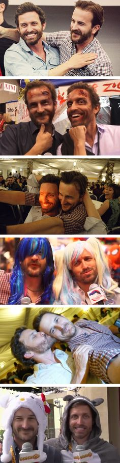 Supernatural #cast: the bromance between Richard Speight Jr and Rob Benedict is wonderful :D R2