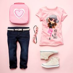 """You go girl!"" 