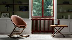 Young Danish designer reimagines the rocking chair at Carl Hansen & Son's New York showroom