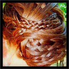 My prom hair ❤