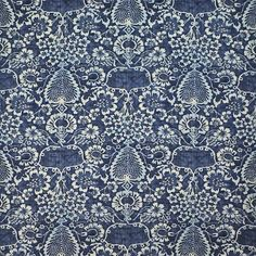 La Garoupe – Indigo - La Plage - Riviera - Fabric - Products - Ralph Lauren Home - RalphLaurenHome.com