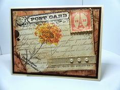 Post Card Stampin Up