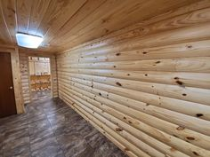 Log Cabin Siding direct from the manufacturer in Flomaton, AL - Southern Wood Specialties - P: 251-296-2556 Heart Pine Flooring, Pine Floors, Log Cabin Siding, Interior Walls, Southern, Yellow, Wood, Furniture, Ideas