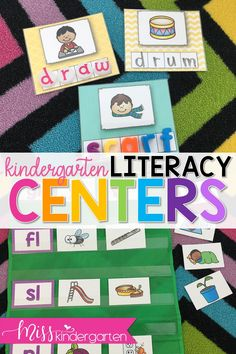 Blends have never been more fun! Add these printable activities and worksheets to your literacy center collection. #wordwork #literacycenters