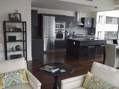 Seattle Condo living room