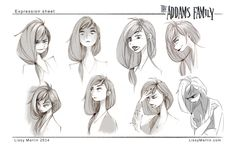 Lissy Marlin - Character Design Page