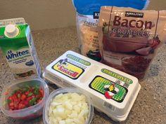 Easy Breakfast Omelet Juice Bottles, Omelet, Bacon, Healthy Recipes, Drinks, Breakfast, Easy, Food, Omelette
