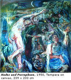 Oskar Kokoschka: Hades and Persephone 1950