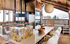 rustic chalet interior design