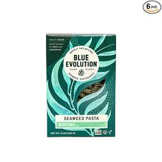 Amazon.com : Blue Evolution Seaweed Pasta, Nourishing Superfood Rotini, Whole Food Vegan Pasta, Rich in Vitamins and Minerals 12 OZ (6 Pack) : Grocery & Gourmet Food Gourmet Recipes, Whole Food Recipes, Whole Foods Vegan, Vegan Pasta, 6 Packs, Vitamins And Minerals, Seaweed, Superfood, Evolution