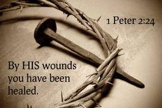 1 Peter in 2020 1 Peter, Christ Tattoo, Jesus Tattoo, Biblical Quotes, Bible Quotes, Christian Wallpaper Hd, Jesus Crown, Catholic Online, Luke 24