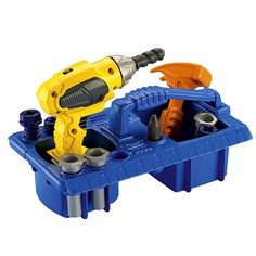 """Fisher-Price - Drillin' Action Tool Set - Fisher-Price - Toys""""R""""Us"""