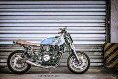 Yamaha XJR Street Tracker 20Y Trunk 001 by TRUNK Motorcycle #motorcycles #streettracker #motos | caferacerpasion.com
