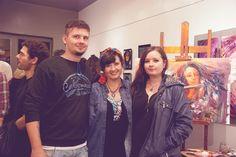 Oksana y sus hijos...