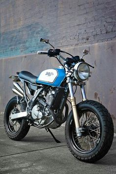 Cafe Moto? DR 650 by 66 Motorcycles