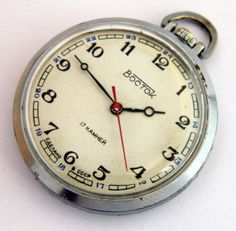 USSR Russian watch Wostok Vostok by madeinua on Etsy, $39.99