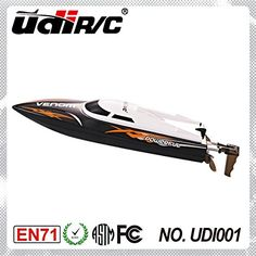 Udirc 2.4GHz High Speed Remote Control Electric Boat (Black) - Current price: USD $46.99 (57% OFF) - Track it on NOTIVO.COM - #Hobbies, #Toys, #Udircs