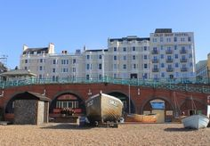 A four-star seafront stay near Brighton's famous pier, with a choice of room types, plus breakfast, dinner on one evening, a lazy check-out and more