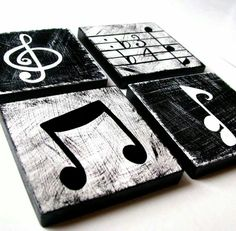 Music wood panels