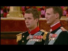The Royal Wedding of Crown Prince Frederik of Denmark to Miss Mary Donaldson (SOOO SWEET how he is crying!)