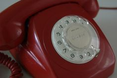 I always wanted a red telephone!